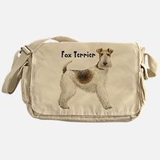 Fox Terrier Messenger Bag