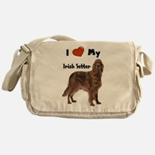 I Love My Irish Setter Messenger Bag