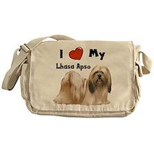 I Love My Lhasa Apso Messenger Bag