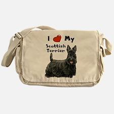 Cute Purebred Messenger Bag