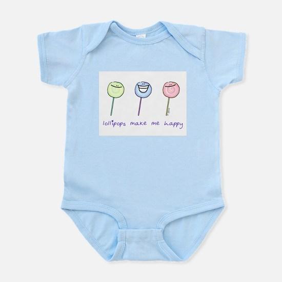 Lollipops Make Me Happy Infant Creeper