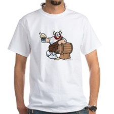 Hagar and Keg White T-Shirt