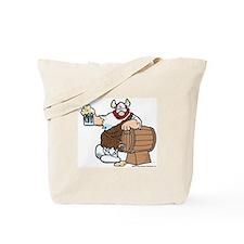 Hagar and Keg Tote Bag
