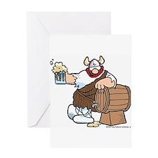 Hagar and Keg Greeting Card