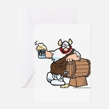 Hagar and Keg Greeting Card