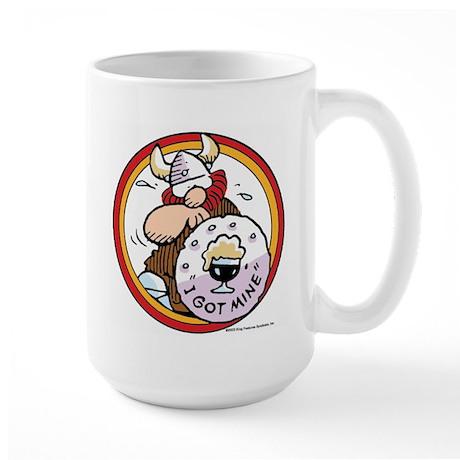 I Got Mine Large Mug