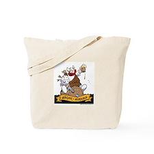 Hagar on Keg Tote Bag