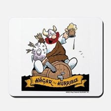 Hagar on Keg Mousepad
