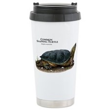 Common Snapping Turtle Travel Mug