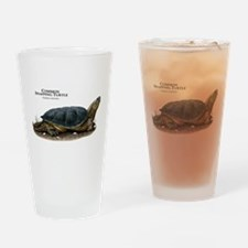 Common Snapping Turtle Drinking Glass