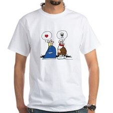 The Way to His Heart... White T-Shirt