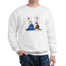 The Way to His Heart... Sweatshirt