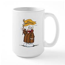 Go Barbarians! Large Mug