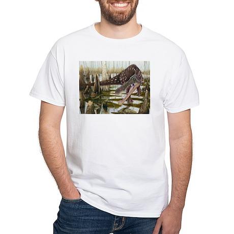 Baryonyx White T-Shirt