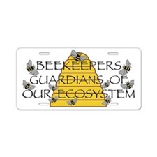 Beekeepers Aluminum License Plate
