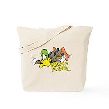 Flying Mallard Tote Bag