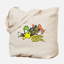 Flying Mallard Tote Bag