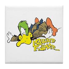 Flying Mallard Tile Coaster