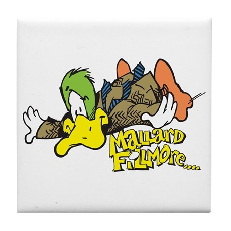 Flying Mallard Tile Coaster