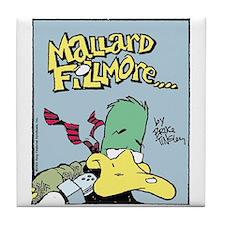 Mallard Fillmore Logo Tile Coaster