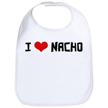 I Love Nacho Bib
