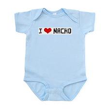 I Love Nacho Infant Creeper