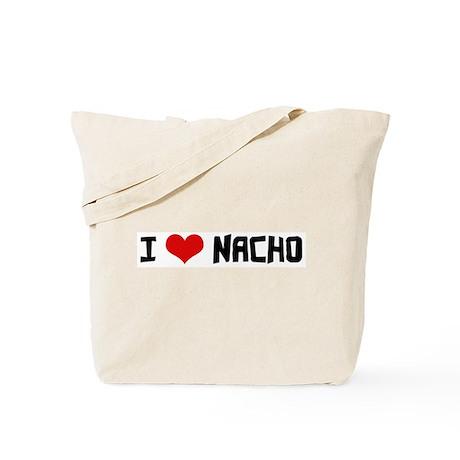 I Love Nacho Tote Bag