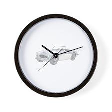 Austin Healey 3000 Mark I - 1960 Wall Clock