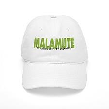 Malamute IT'S AN ADVENTURE Baseball Cap