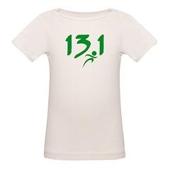 Green 13.1 half-marathon Tee