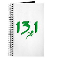 Green 13.1 half-marathon Journal