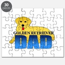 Golden Retriever Dad Puzzle