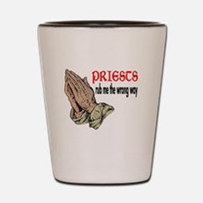 Priests Shot Glass