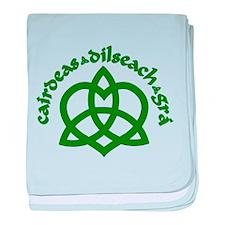 Celtic Love Knot baby blanket
