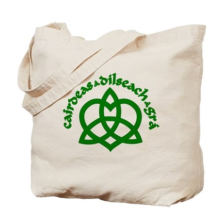 Celtic Love Knot Tote Bag