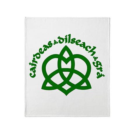 Celtic Love Knot Throw Blanket
