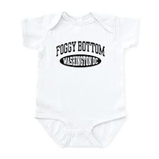 Foggy Bottom Washington DC Infant Bodysuit