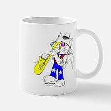 Sax Cat Mug
