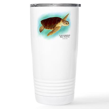 Loggerhead Sea Turtle Stainless Steel Travel Mug