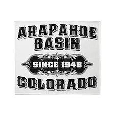 AB Since 1948 Black Throw Blanket