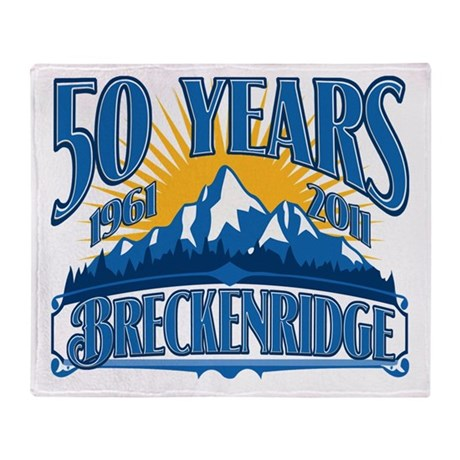 Breckenridge Blue Mountain Throw Blanket