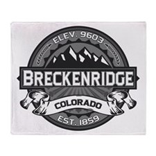 Breckenridge Grey Throw Blanket