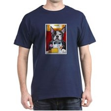 French Bulldog at Dinner T-Shirt