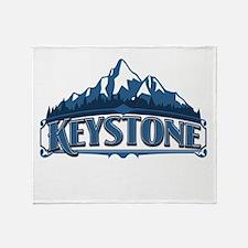 Keystone Blue Mountain Throw Blanket