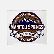 Manitou Springs Vibrant Throw Blanket