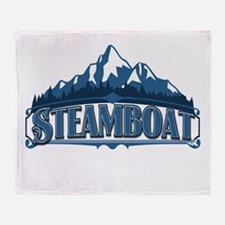 Steamboat Blue Mountain Throw Blanket