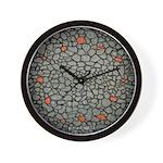 Stone Wall Design Wall Clock