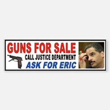 FIRE ERIC HOLDER Bumper Bumper Sticker