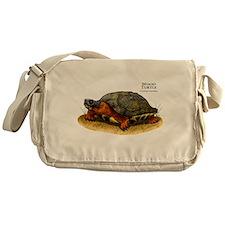 Wood Turtle Messenger Bag