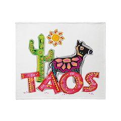 Taos Desert Throw Blanket